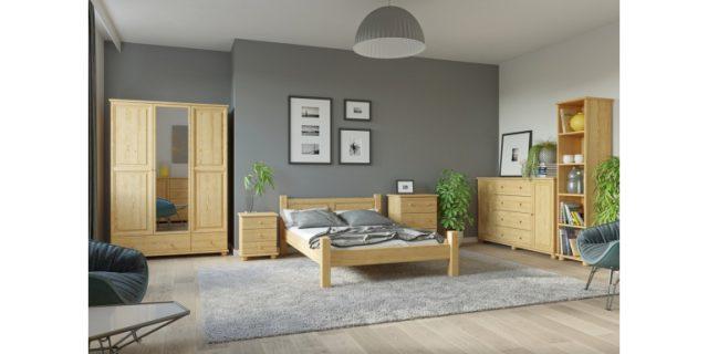 Regał z drewna i skandynawska komoda- urządzamy proste i jasne wnętrze
